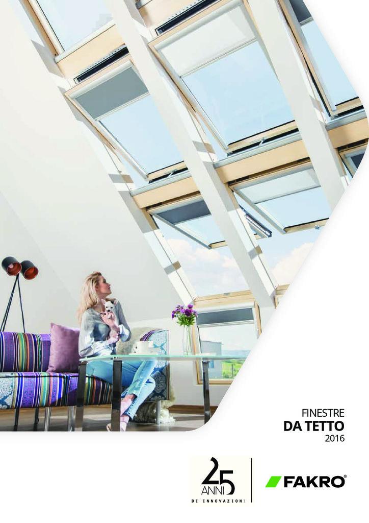 thumbnail of Elite Infissi – Finestre da Tetto – Fakro Catalogo